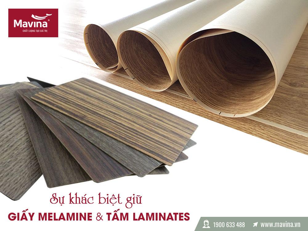 Melamine và Laminate