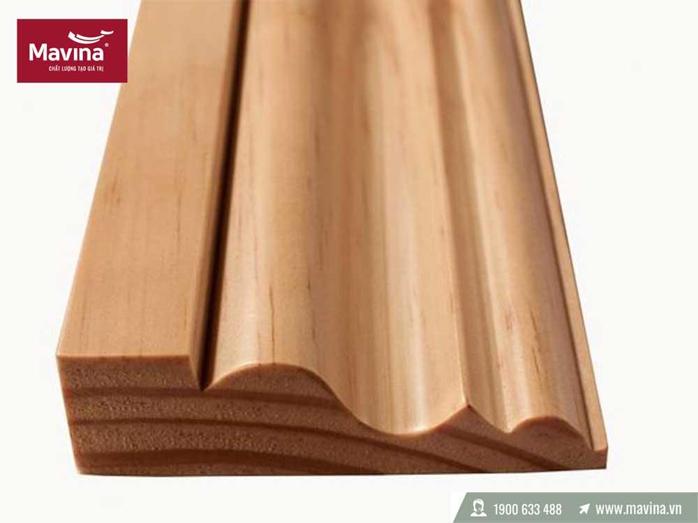 Phào gỗ tự nhiên