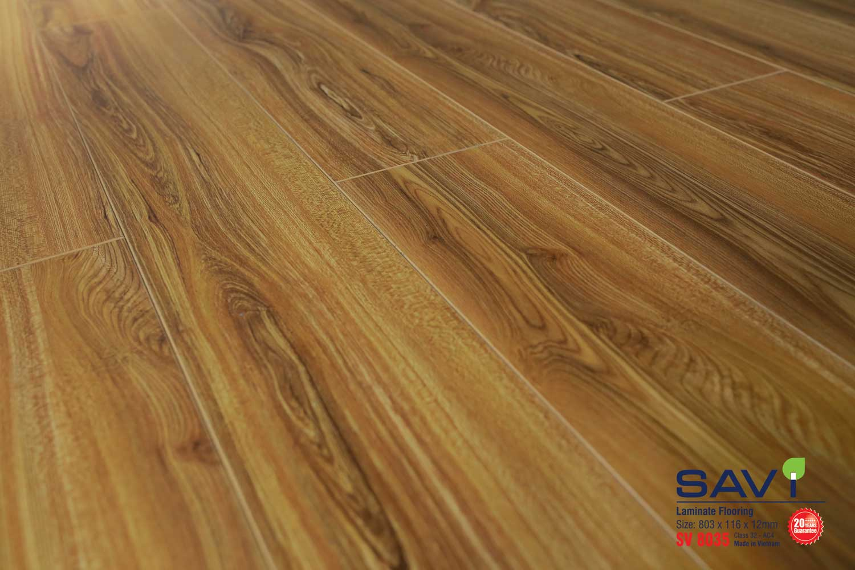 Sàn gỗ Savi 12mm bản ngắn