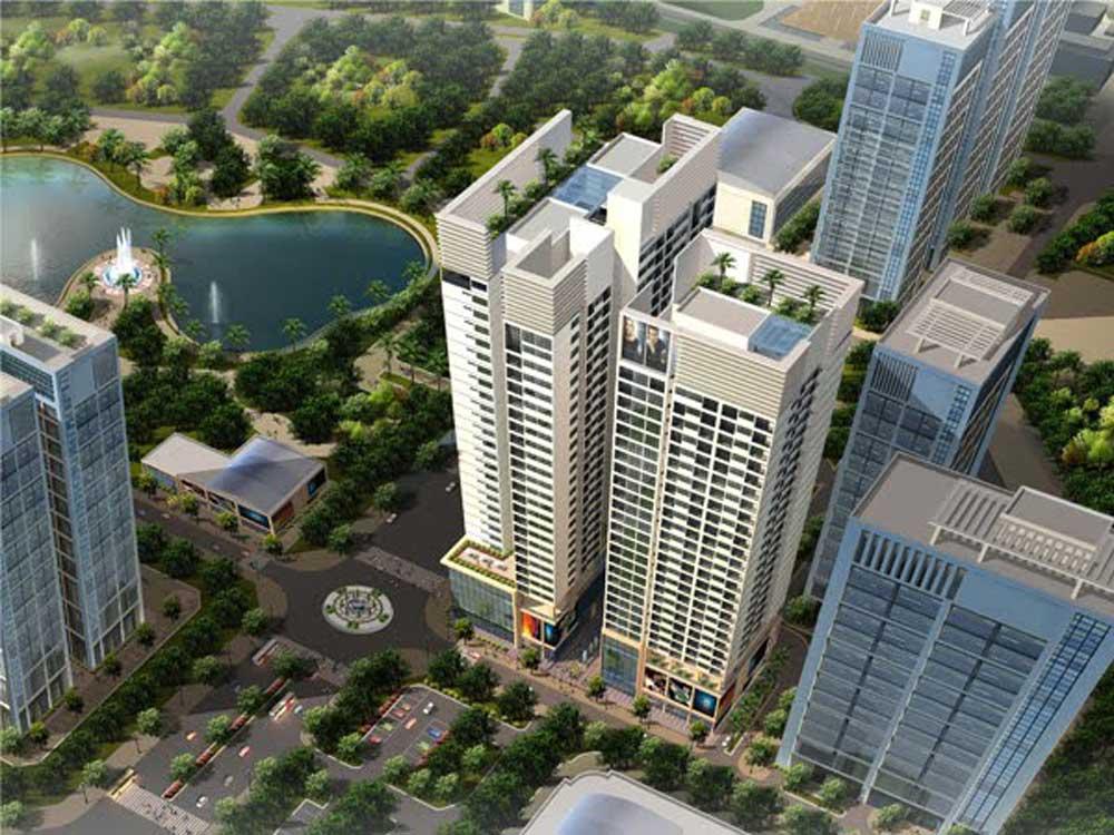 Dự án nhà ở cao tầng N03-T3&T4 Khu ngoại giao đoàn