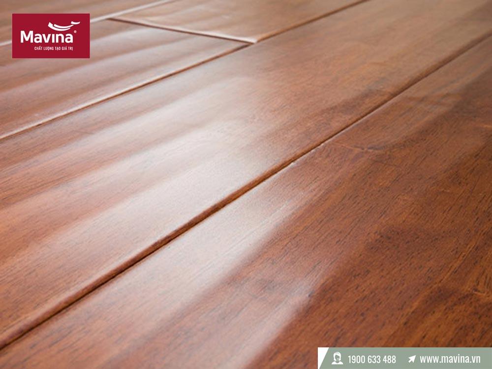 Sàn gỗ bị phồng