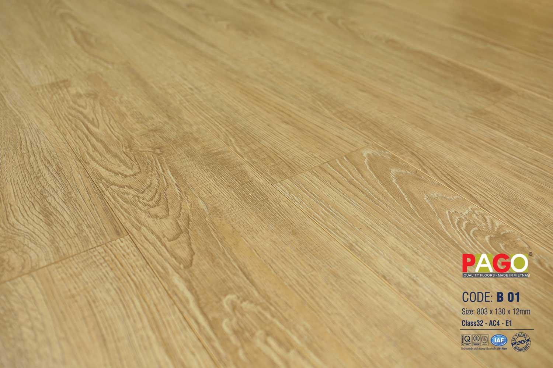 Sàn gỗ pago - B01